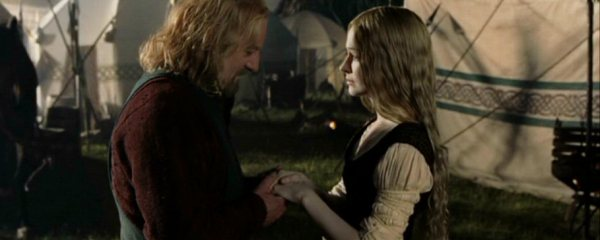 relationship between eowyn and theoden
