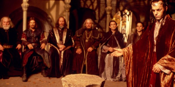 Lord Of The Rings Meeting At Rivendell