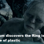 Gollum-and-the-Plastic-Ring