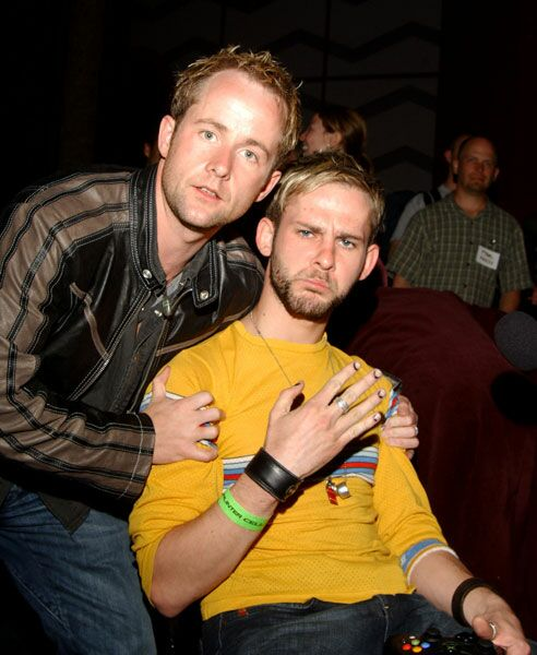 Dominic Monaghan nails