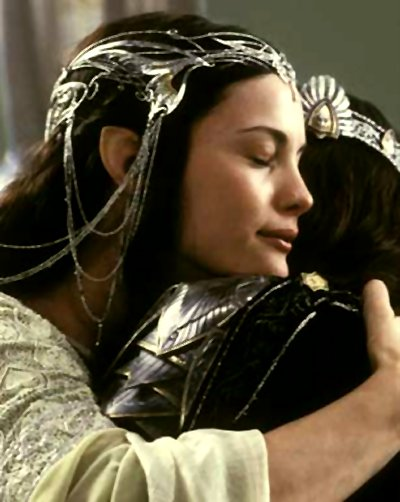 Something is. aragorn and arwen wedding
