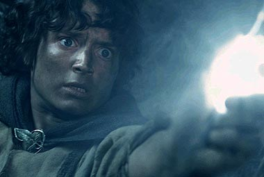 frodo light of galadriel lotr