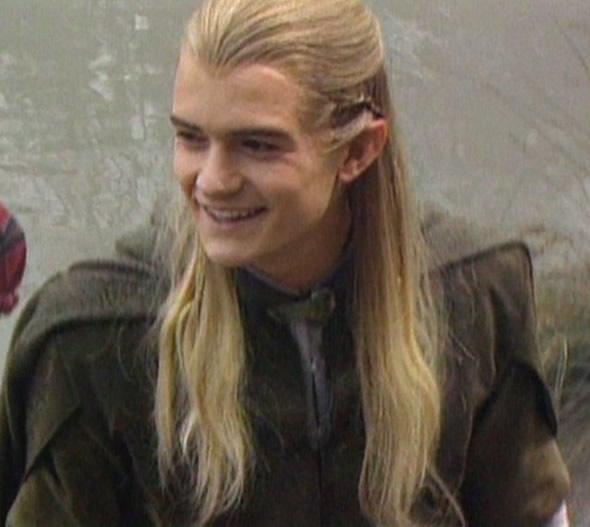 Orlando Bloom As Legolas Greenleaf Council of Elro...