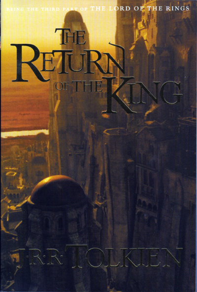 The return of the king book cover