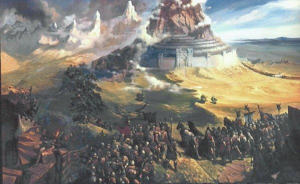 Council Of Elrond Lotr News Information Minas Tirith